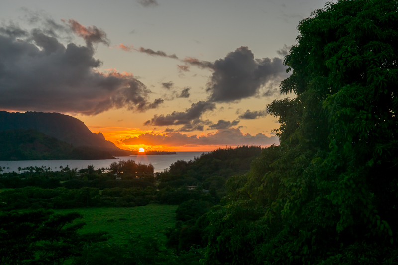 Last Light 9.3.14 - Hanalei Bay