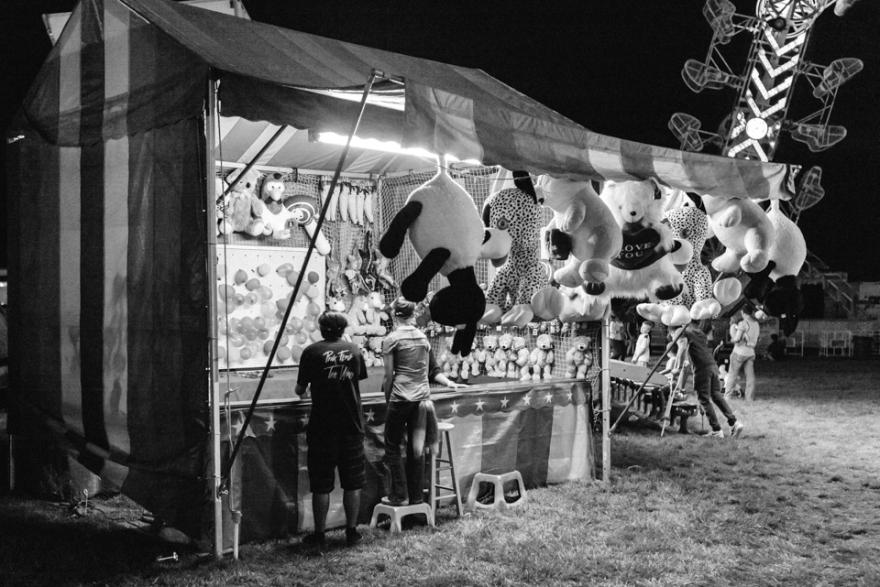 Fair at Night